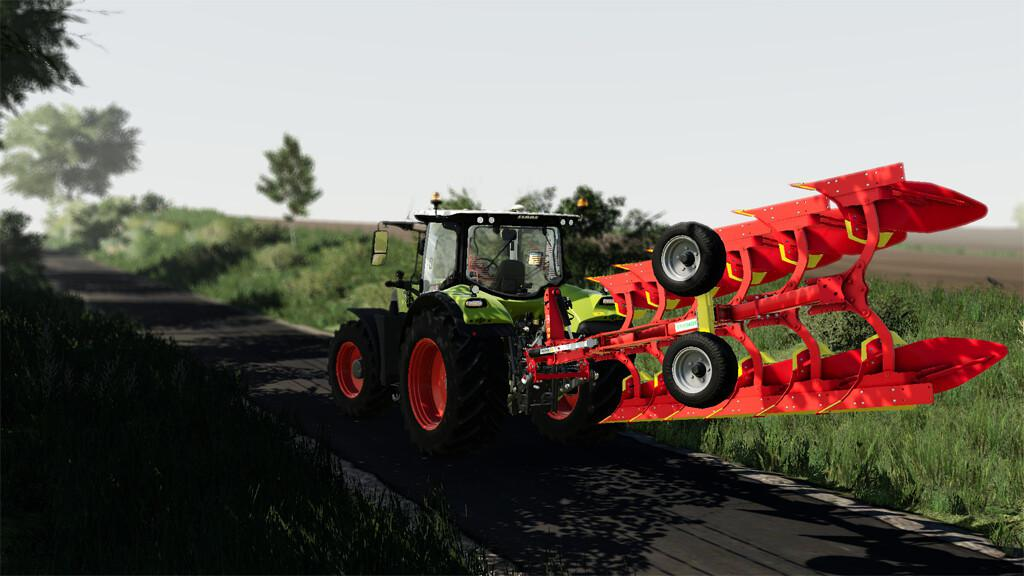 Pottinger Servo 35 Plough V1