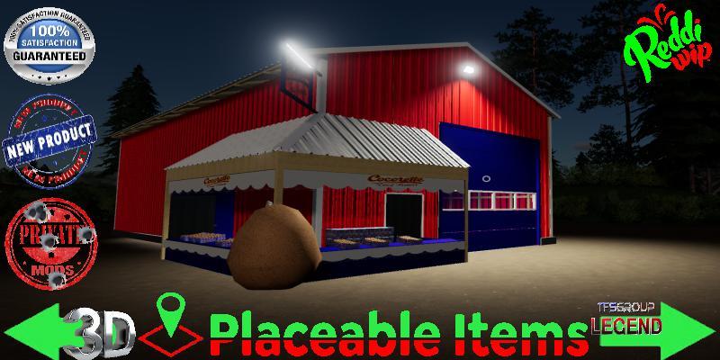 Placeable Cocorette Egg Sale V1.5