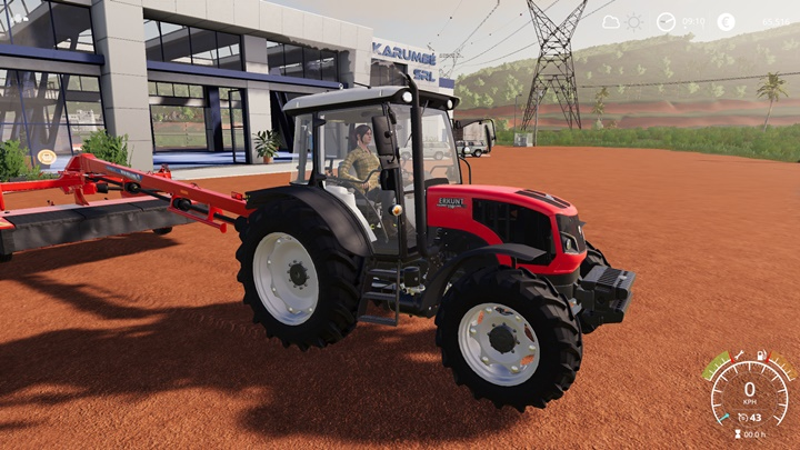 Erkunt Hasmet 110 Luks CRD Tractor V1