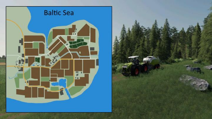 Baltic Sea Map V1.1