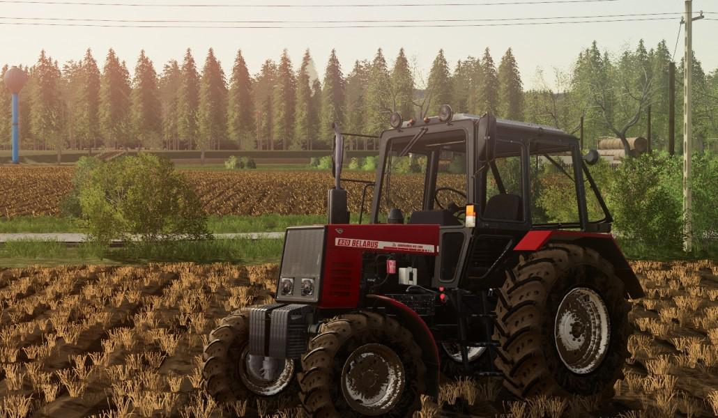 Belarus 820 Tractor V1