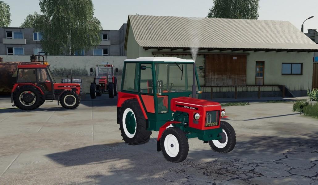 Zetor 6911 Red Tractor V1