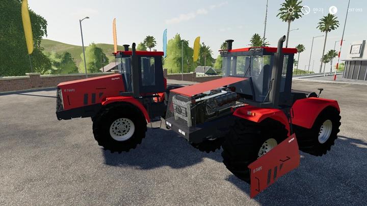 Kirovets K-744 P3 Tractor V2