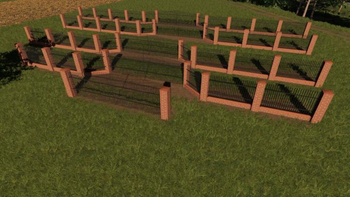 Brick And Metal Fences Pack V1