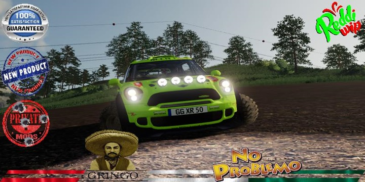 Austin Mini 318 Dakar 2020 V1.5