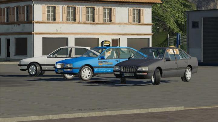 Opel Senator B V1