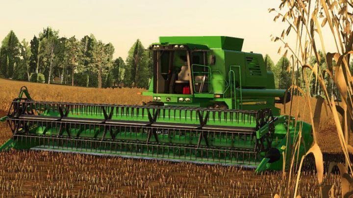 John Deere 1570 Harvester V1