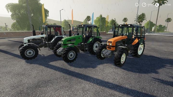 MTZ-1221.4 Tractor V2