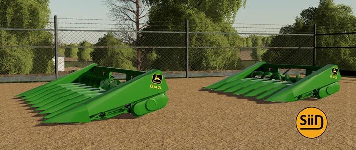 John Deere 643- 843 Corn Heads V1