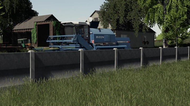 Concrete Fences V1
