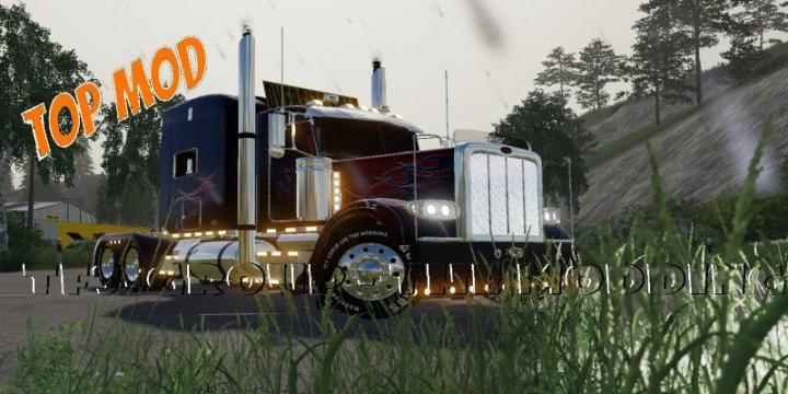 Peterbilt 388 Optimus Prime V2