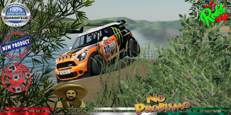 Mini ALL4 312 Dakar V1.5