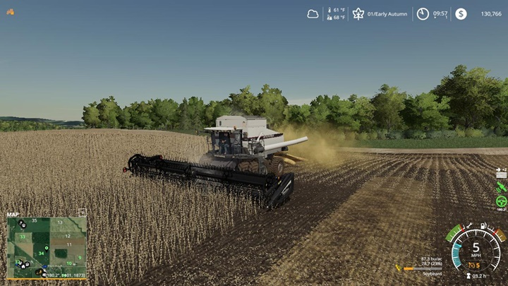 Gleaner R65/R75 Harvester V1