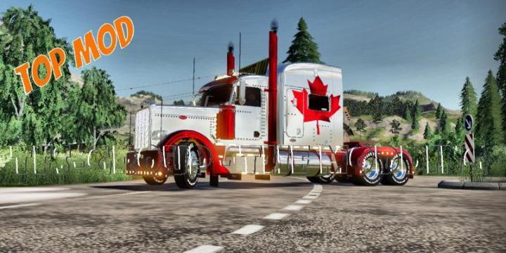 Peterbilt 388 Canada Truck V2