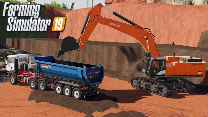 Hitachi 870LC Excavator V1