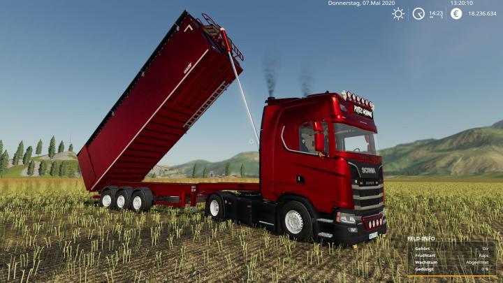 Scania Trucks Pack Multicolor V1
