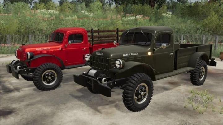 Dodge Power Wagon 1946 V1