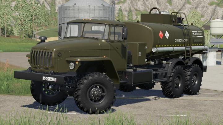 Ural 4320-60 Acv/Atz V1.0