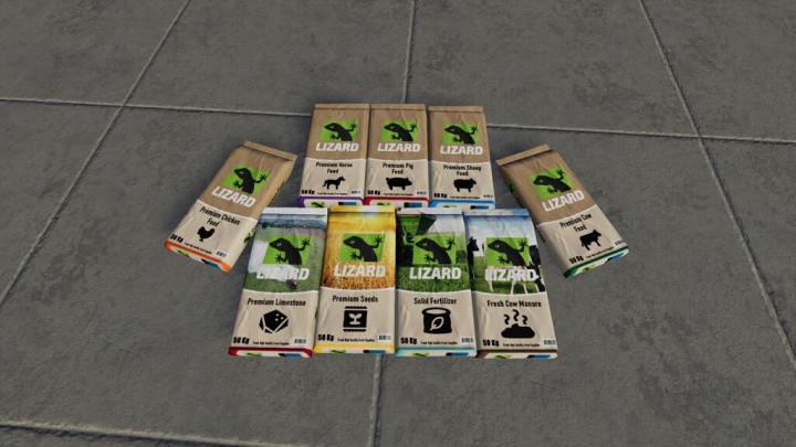 Lizard Pallet Pack V1.1