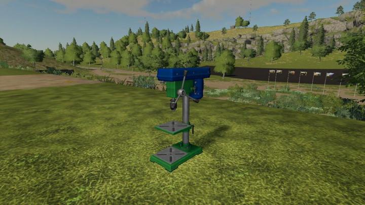 Bench Drill And Grill Pack V1.0