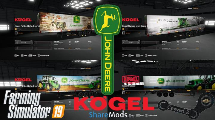 John Deere Kogel Pack Trailers V1