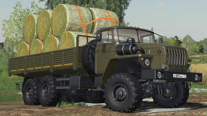 Ural 4320/4320-60 Flatbed V1