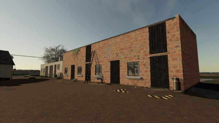 Old Polish Cow Building V1.0