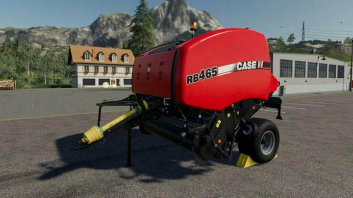 Case Ih Rb465 Baler Machine V1.1