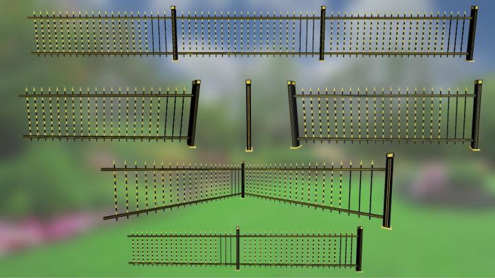 Golden Fences Pack V1.0
