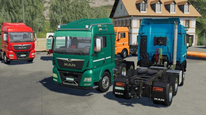 Man Tgx Semi-Truck Pack V1.0.0.1