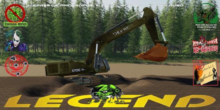 John Deere 870G Forestry V2.0.0.1