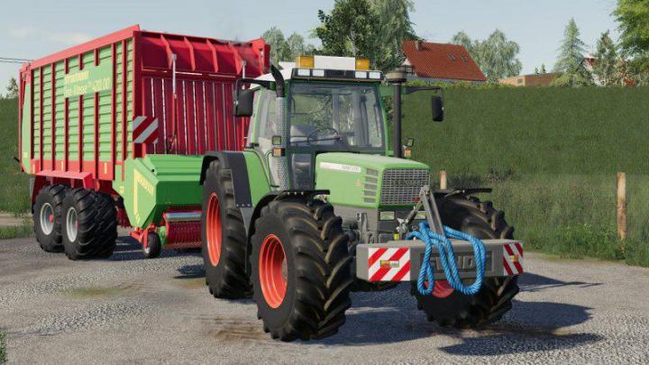 Fendt Favorit 515C Tractor V1.0