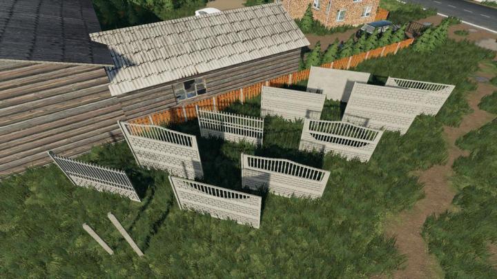 Concrete Fences Pack V1.0