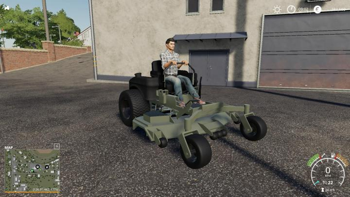 Scag And Bobcat Zero Turn Mower V1.0