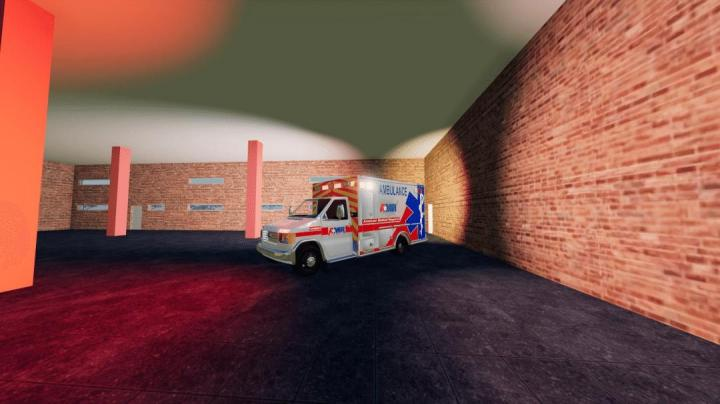 Ford E350 Type 3 Ambulance V1.0