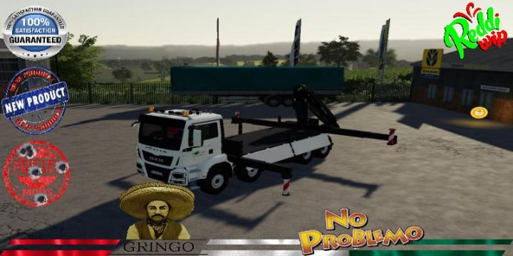 Man 8X4 Hiab -Truck V2.0