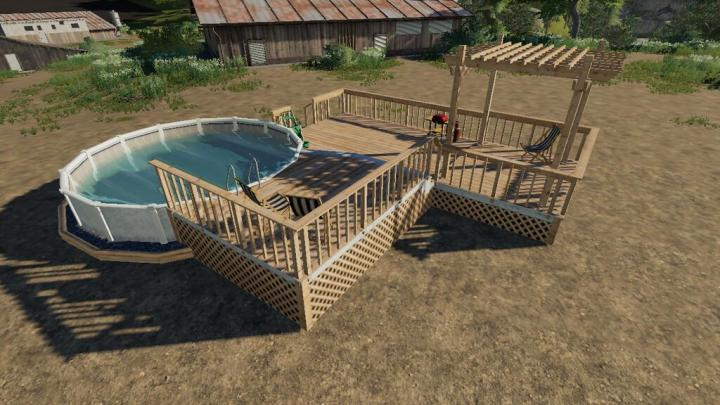 Garden Decking And Pool V1.0
