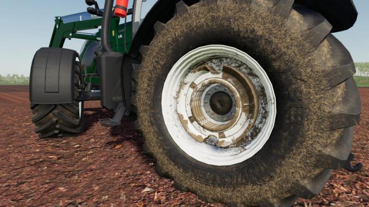 Valtra Wheel Weights (Prefab) V1.0
