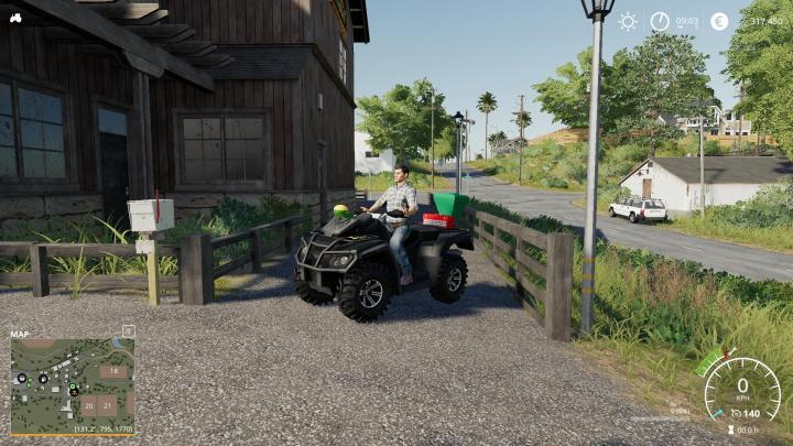 Lizard Motorbike V1