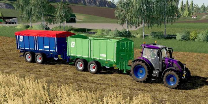Agroliner Tkd 302 Used Trailer V1.0
