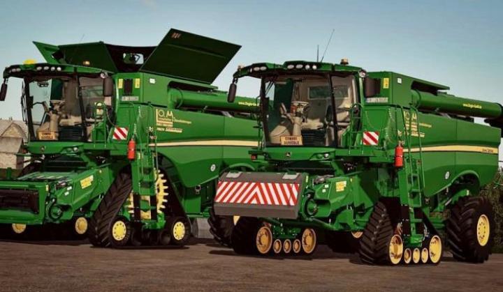 John Deere S600 Serie New Harvester