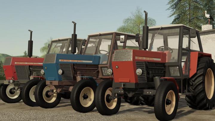 Zetor Crystal 12011 Tractor V1.1