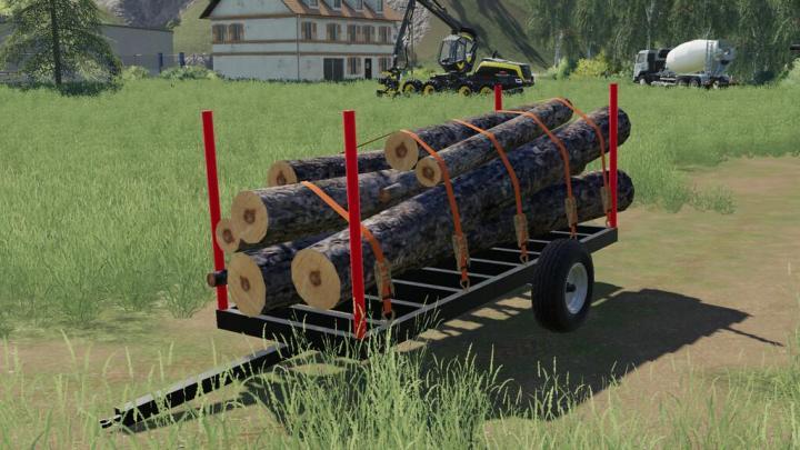 Wood Trailer V1.0