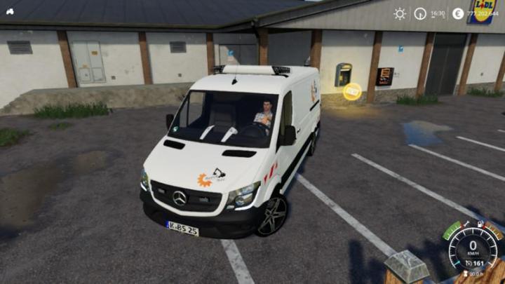 Mercedes Sprinter 2014 Bauhof-Stani V2.0