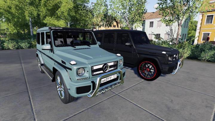 Mercedes-Benz G-65 Amg V1.0
