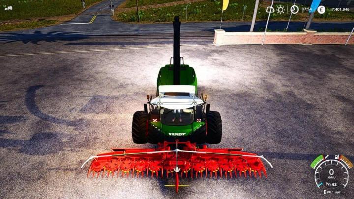 Fendt Katana Harvester V2.5