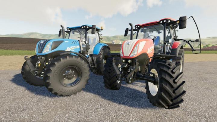 New Holland T7 Swb-Lwb V1.0