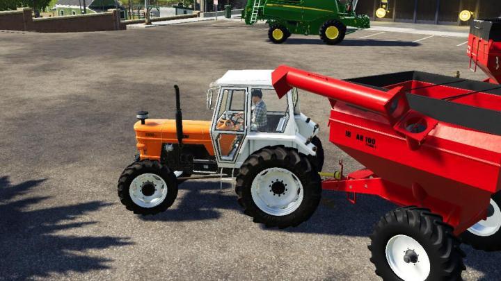 Bulk Carrier Agricultural Trailer Ib Ar 100 V1
