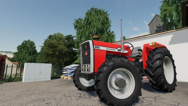 Massey Ferguson 260 Tractor V1.0