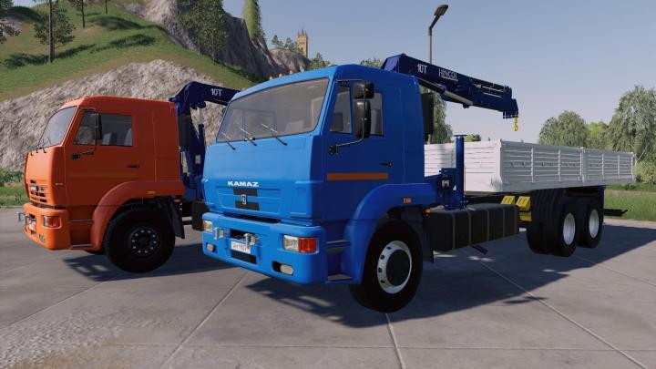 Kamaz 65117 Picker Crane V1.0.1.0